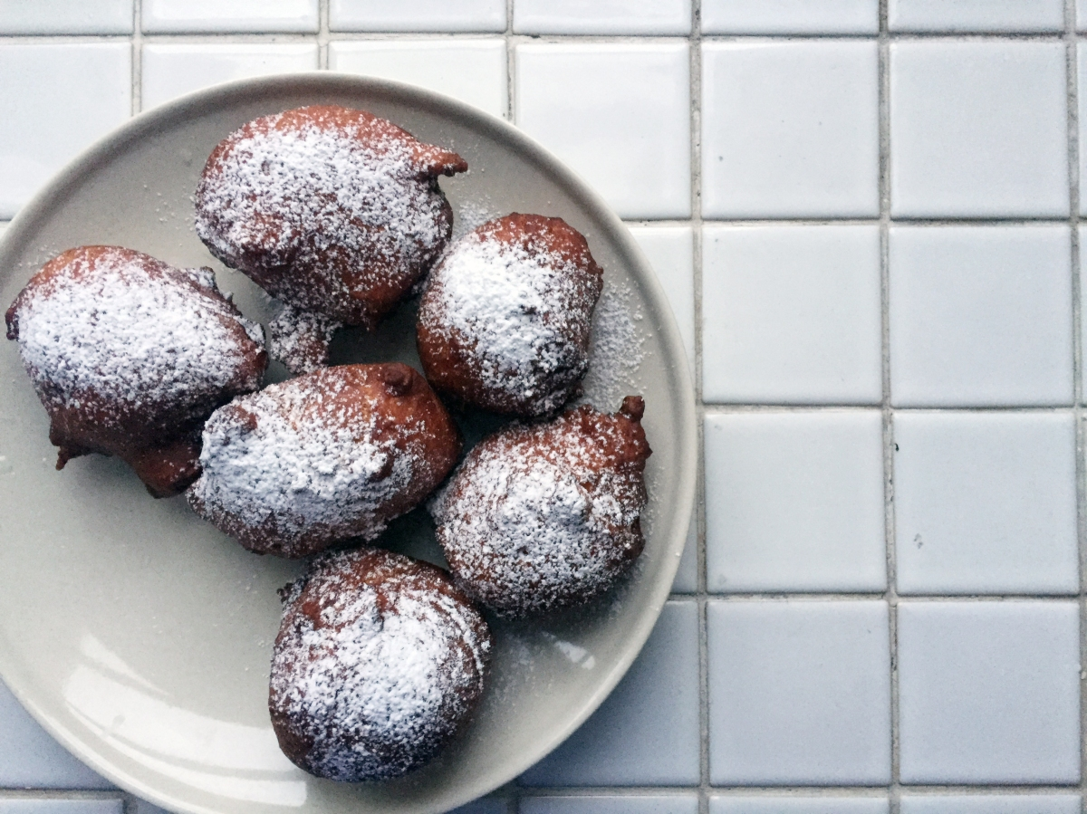 Oliebollen The Frying Dutch My Dear Kitchen In Helsinki