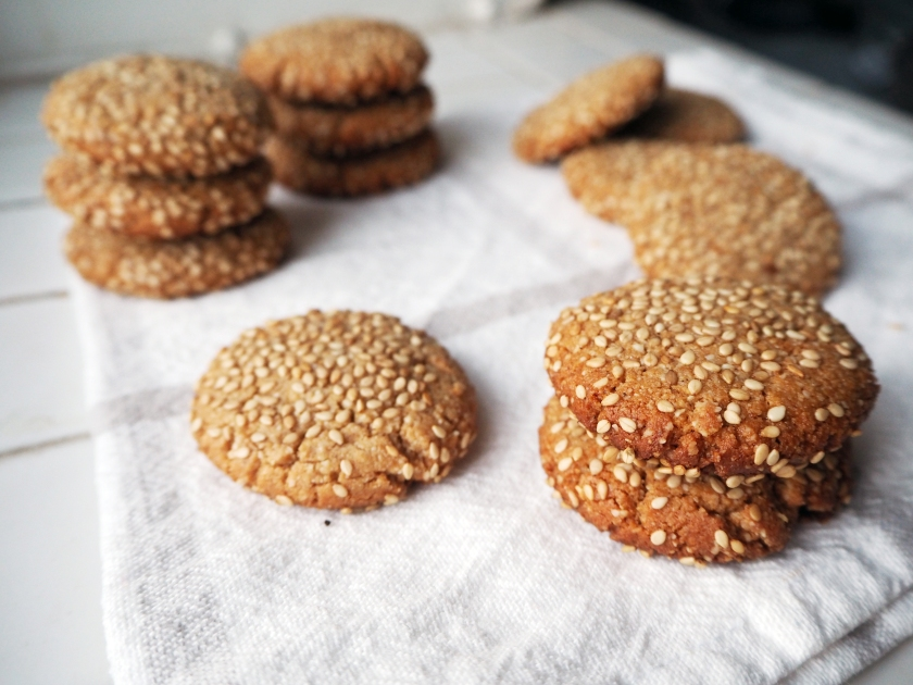 Honey Tahini Cookies - B