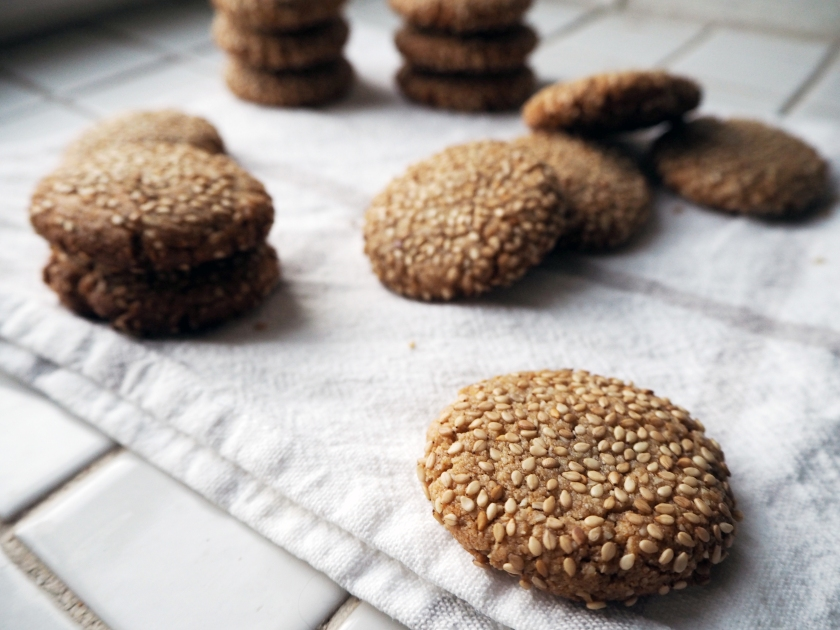 Honey Tahini Cookies - C