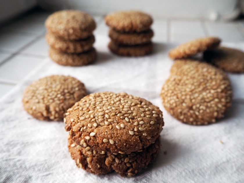 Honey Tahini Cookies - D
