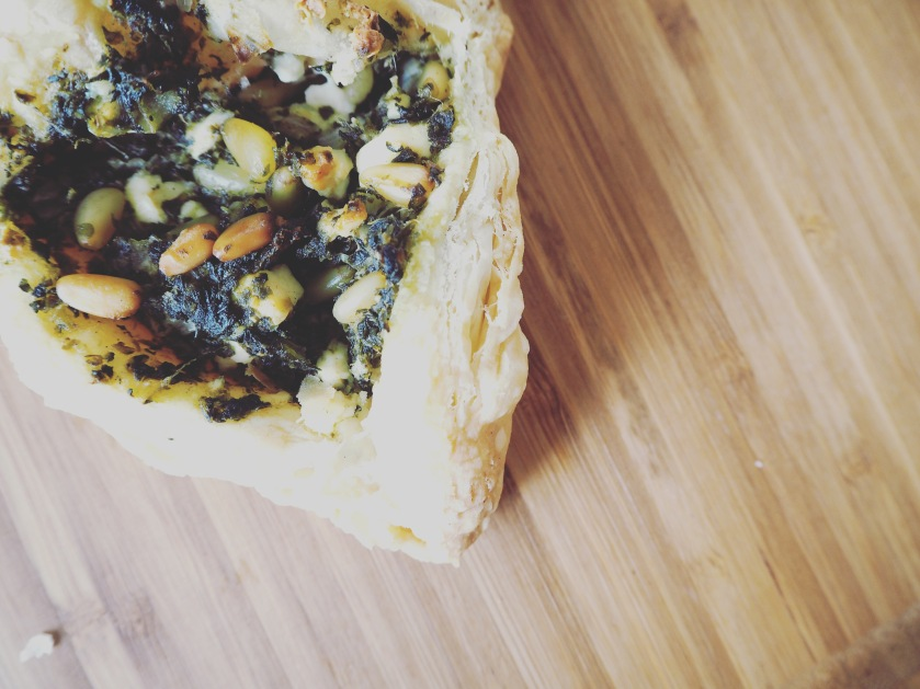 Spinach Pastry - D