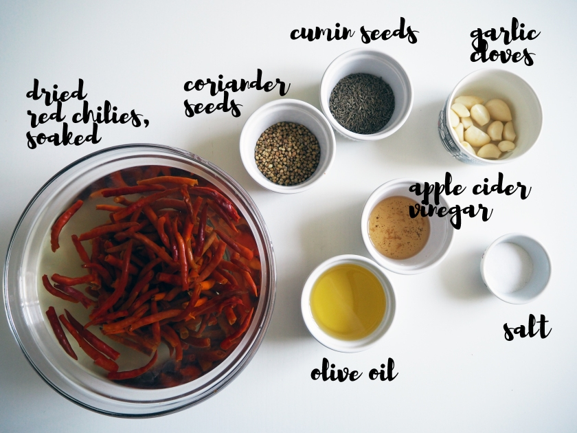 Harissa - Ingredients
