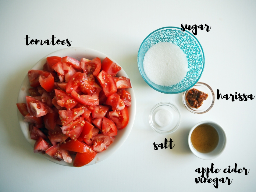 Tomato Jam - Ingredients
