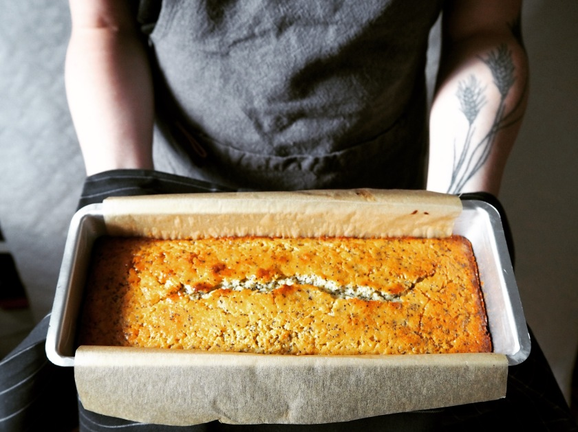 Lemon Poppy Seed Cake - A