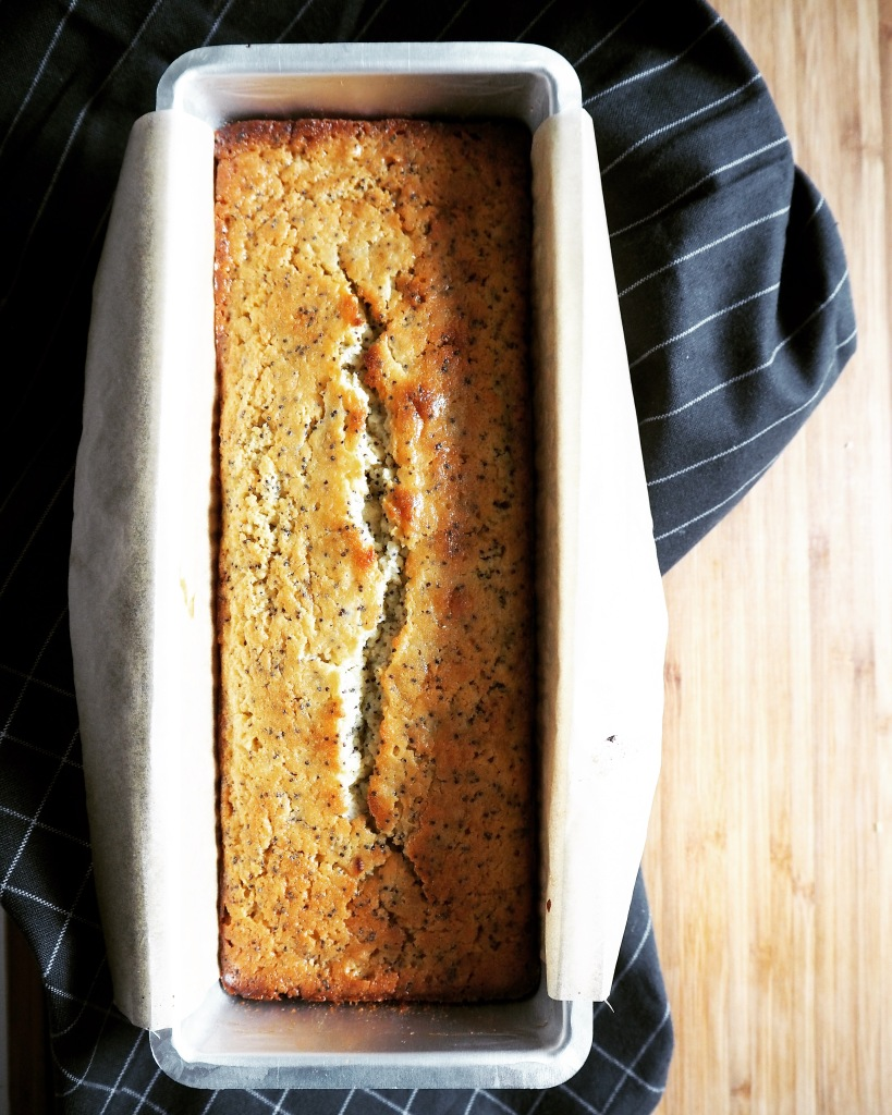 Lemon Poppy Seed Cake - B