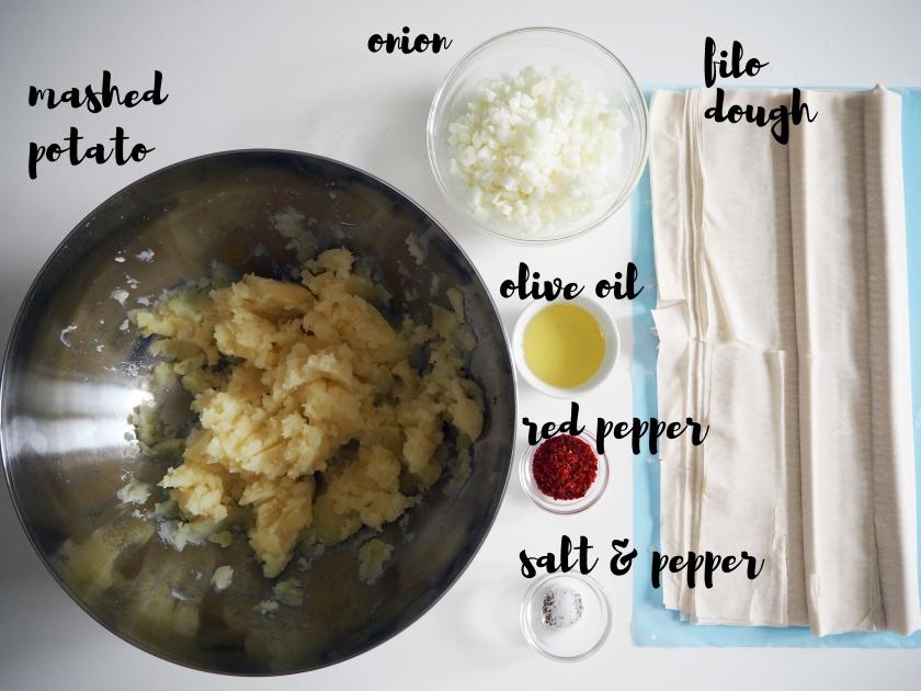 Börek - Ingredients 1