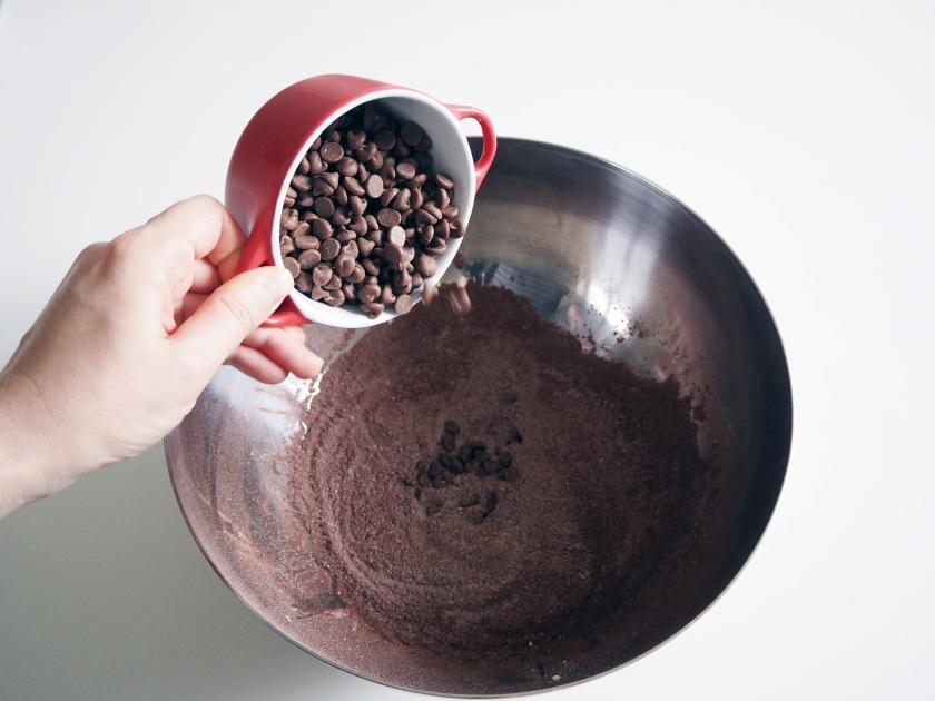 Chocolate Zucchini Spelt Cake - 3A