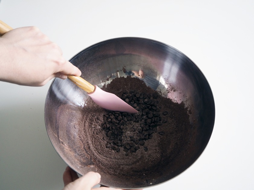 Chocolate Zucchini Spelt Cake - 3B
