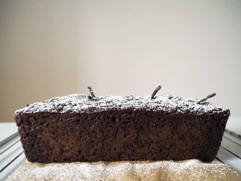 Chocolate Cinnamon Pear Cake - 8C