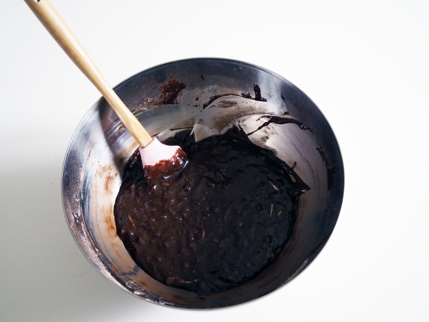 Chocolate Zucchini Spelt Cake - 8C