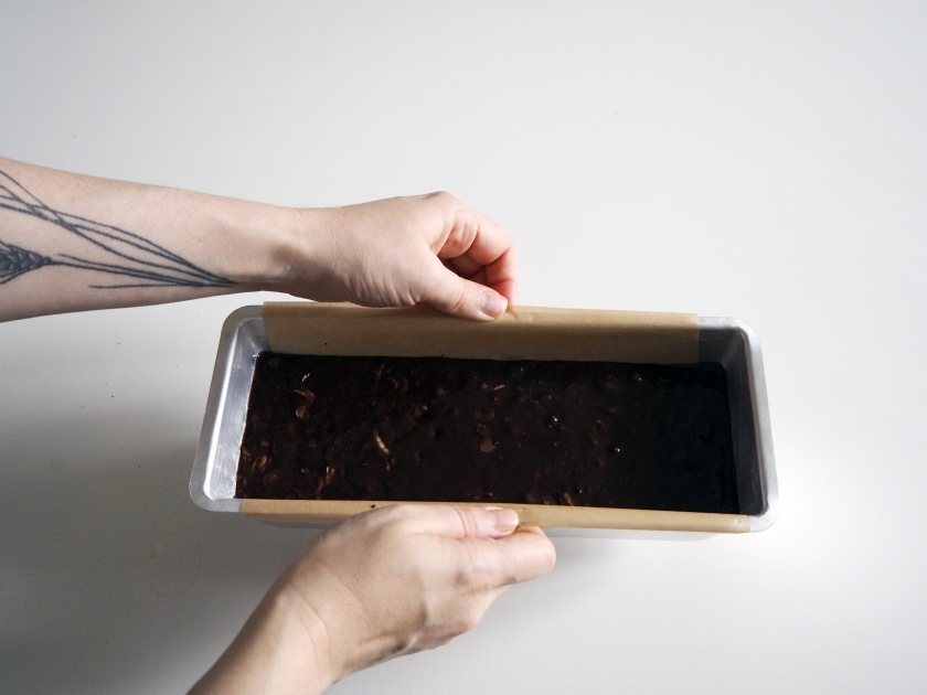 Chocolate Zucchini Spelt Cake - 9B