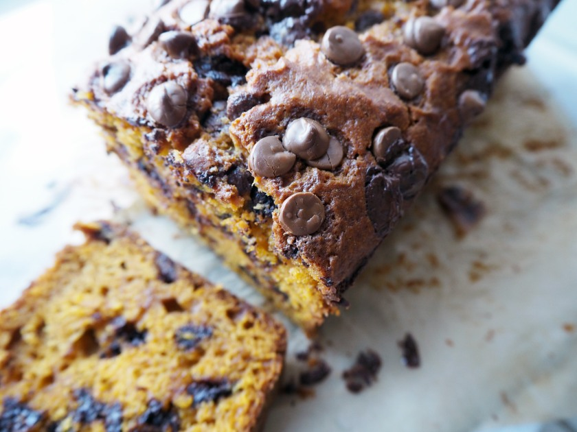 Pumpkin Chocolate Chip Cake - D