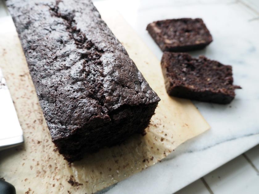 Chocolate Zucchini Spelt Cake - D