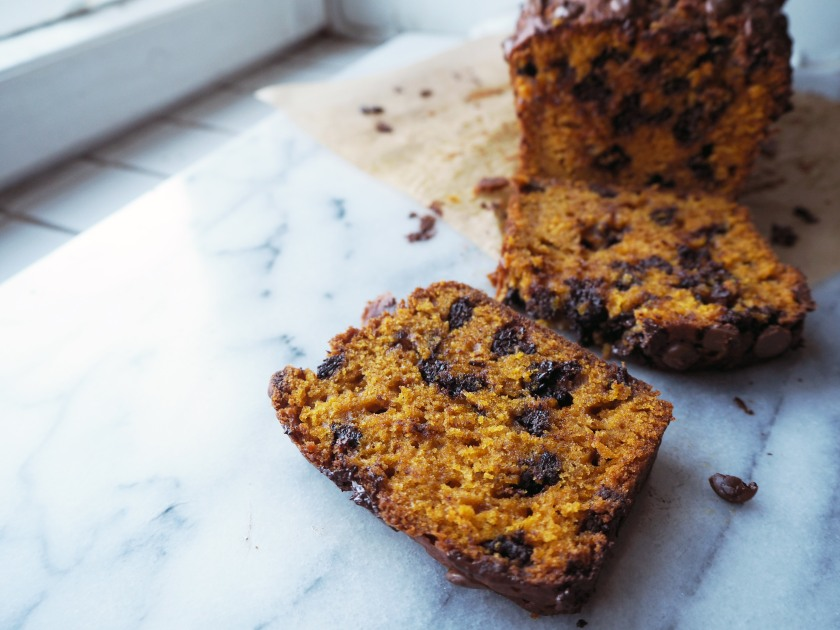 Pumpkin Chocolate Chip Cake - F
