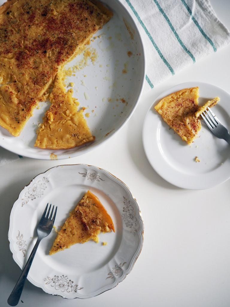 Chickpea Bread - pancake