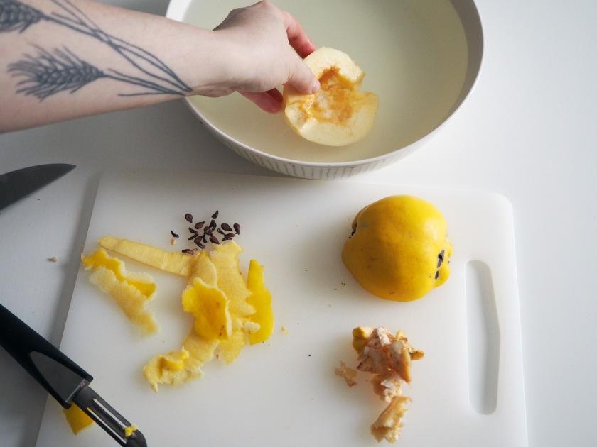 Quince Dessert