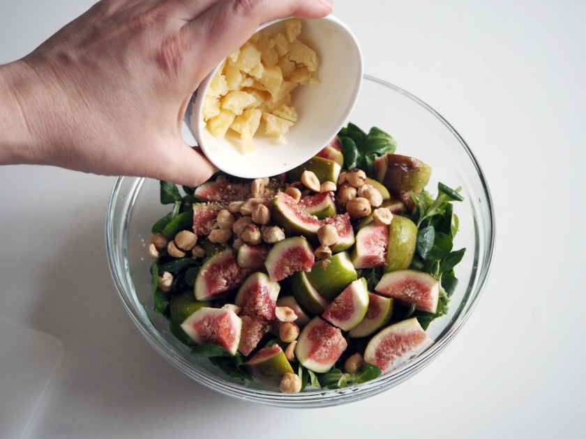 Fig and Hazelnut Salad