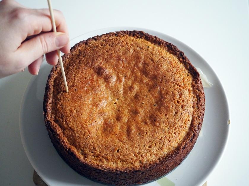Almond Polenta Cake