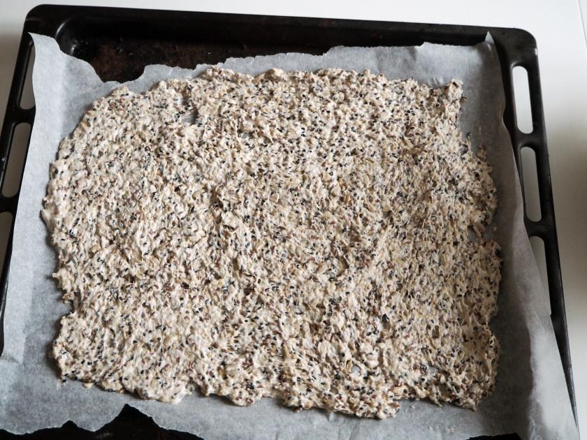 Vegan Crispbread With Seeds