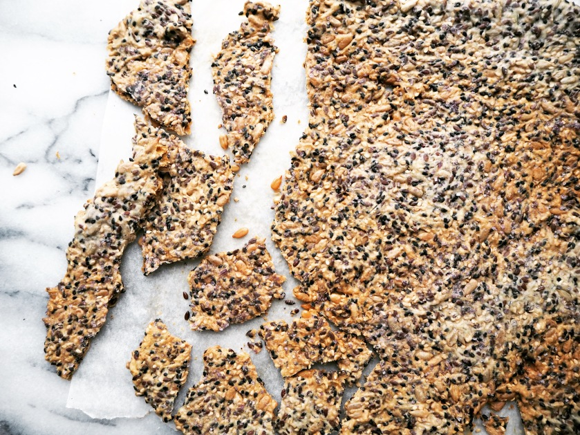 Vegan Crispbread With Seeds