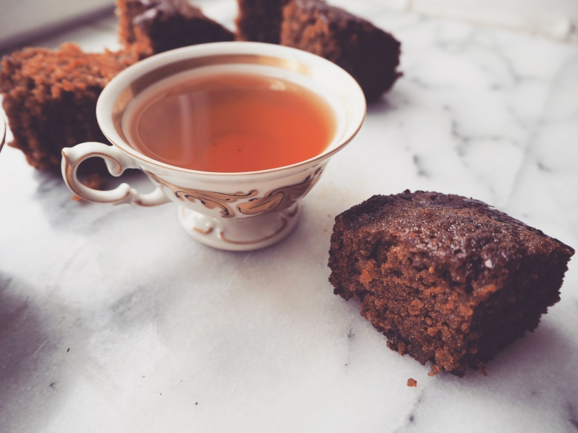 Sticky and Spicy Gingerbread